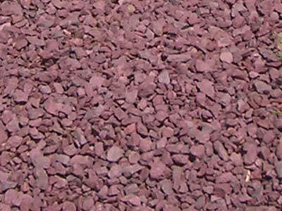 Rock stone delivered in bulk select materials for Small red rocks for landscaping